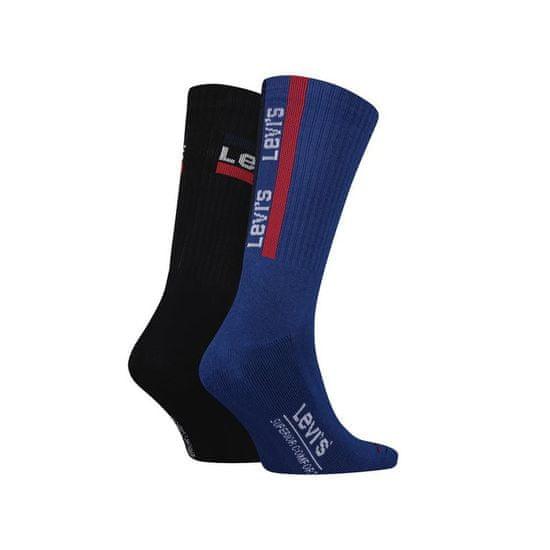 Levi's 2PACK ponožky vícebarevné (992001001 261) - velikost M