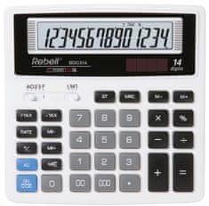 Rebell kalkulator BDC314, biały (RE-BDC314 BX)