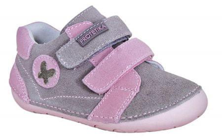 Protetika dekliški čevlji Valery pink, 19, roza