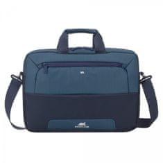 RivaCase 7737 torba za prenosnik, 39,6 cm (15.6''), sivo-modra