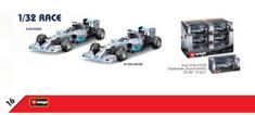 BBurago BB41226 1/32 F1 Mercedes
