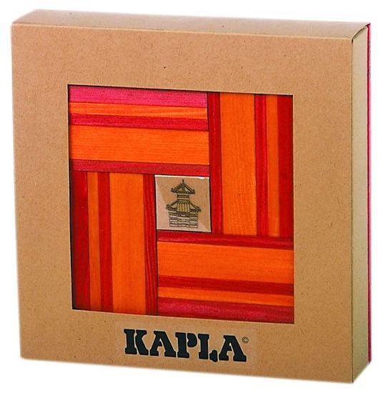 Kapla DuoColor 40, oranžová/červená