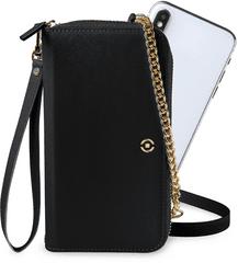 CELLY Venere kabelka pro telefon, černá (VENEREBK)