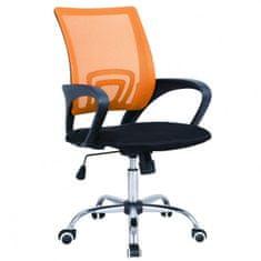Cosmil pisarniški stol, oranžen
