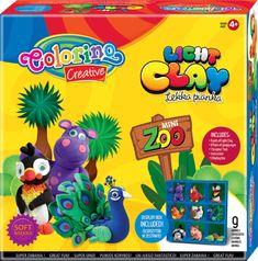 Colorino lahka modelirna masa, Zoo (92180PTR)