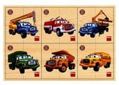 DINO Tatra 6x4D dřev. Puzzle