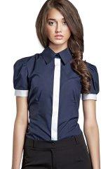 Nife Dámská košile s krátkým rukávem K33R - Nife