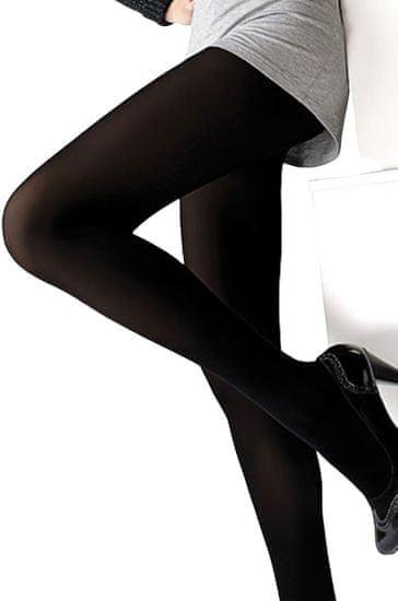 Mona RAJ.VELUR - Dámské punčochové kalhoty 100 den - MONA černá 2-S