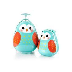 Heys Travel Tots Lightweight Kids Owl – súprava batoha a kufra