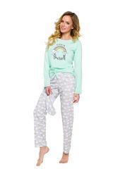 TARO 2226 Dlouhé dámské pyžamo MAJA S-XL
