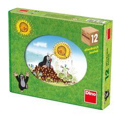 Dino KRTKŮV ROK 12 Dřevěné kostky