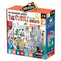 Headu Hrací sada s puzzle Můj vymyšlený svět: Rytířský hrad