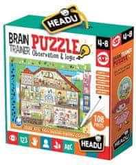 Headu Puzzle Brain Trainer s hledáním obrázků 108 dílků