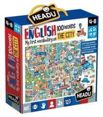 Headu Puzzle Easy English: Ve městě 108 dílků