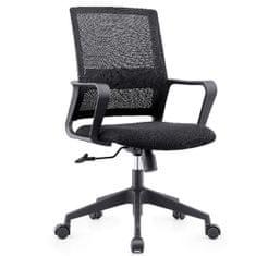 Galia pisarniški stol, črn