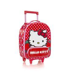 Heys Dětský kabinový cestovní kufr Soft Hello Kitty Red 21 l