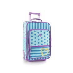 Heys Dětský textilní kabinový kufr Fashion Dots/Stripes 20 l