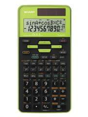 Sharp kalkulator szkolny EL531TGGR, zielony (SH-EL531TGGR)