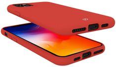 Celly Feeling kryt na iPhone 11 Pro Max FEELING1002RD, červený