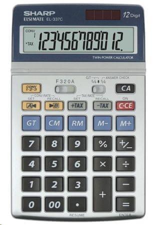 Sharp namizni kalkulator EL337C (SH-EL337C)