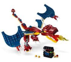 LEGO Creator 31102 Tűz sárkány