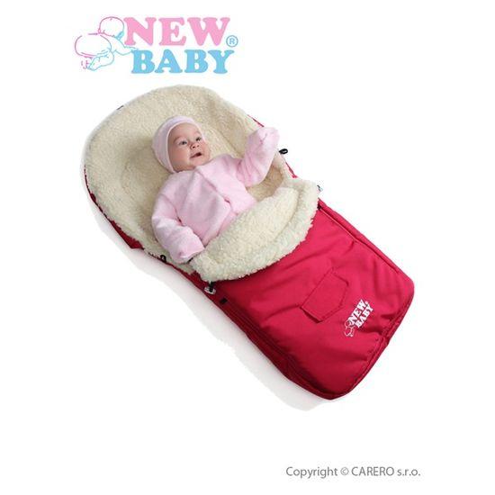 NEW BABY Zimný fusak New Baby Classic Wool turquise Modrá