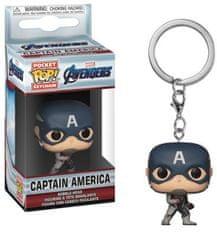 Funko POP! Avengers obesek za ključe, Captain America