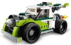 LEGO Creator 31103 Auto rakéta meghajtással