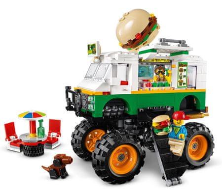 LEGO Creator 31104 Hamburger Monster truck