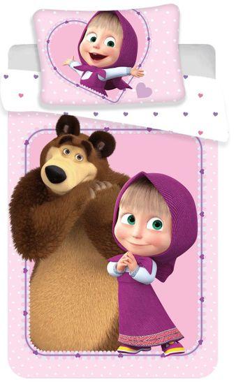 Jerry Fabrics Máša a Medveď baby