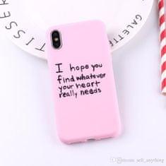ACM Kryt na iPhone 7/8 - I hope - Pink
