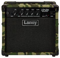 Laney LX15B CAMO Basgitarové tranzistorové kombo
