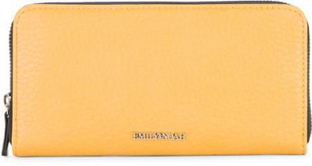 Emily & Noah portfel damski Laeticia 62125 żółty
