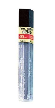 Pentel mine za tehnični svinčnik, 0,5 mm, HB (C505)