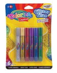 Colorino Glitter Metallic lepilo, 6 / 1 (68826PTR)