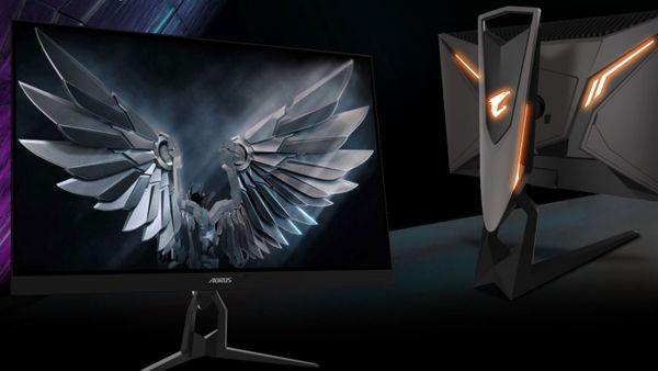 herní monitor gigabyte Aorus FI27Q (AORUS FI27Q-EK) dokonalý pozorovací úhel hdr vysoký dynamický rozsah černý ekvalizér 1 ms doba odezvy elegantní design zakřivení dokonalá barevnost