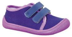 Protetika dievčenské barefoot topánky ALIX lila