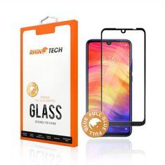 RhinoTech 2 Tvrzené ochranné 2,5D sklo pro Xiaomi Redmi Note 8 Pro (Full Glue) RTX065, černá