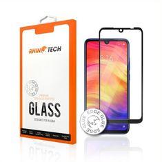 RhinoTech 2 Tvrzené ochranné 2,5D sklo pro Xiaomi Redmi Note 8 Pro (Edge Glue) RTX066, černá