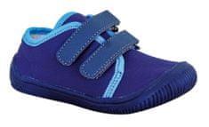 Protetika chlapčenské barefoot topánky ALIX navy