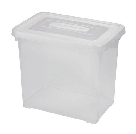 CURVER pojemnik plastikowy Handy box 9 l, transparentny