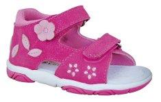 Protetika dívčí boty ROSITA fuxia