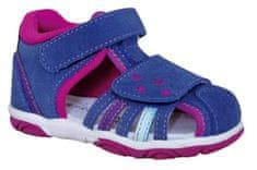Protetika buty dziewczęce SANDRA navy