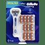 1 - Gillette Fusion5 Holiaci Strojček + 10 holiacich hlavíc