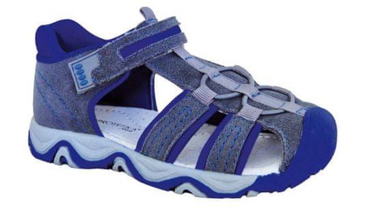 Protetika chlapecké sandály RALF grey 35 šedá