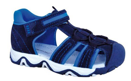 Protetika chlapčenské sandále RALF navy, 27, modrá