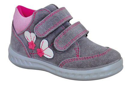 Protetika lány egész éves cipő RORY grey 22 szürke
