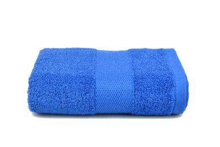 Saffran Ręcznik frotte 50x90 cm, 400 gr / m2 - ciemny niebieski