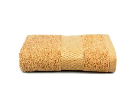 Saffran Ręcznik frotte 50x90 cm, 400 gr / m2, kawowy