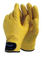 Otto Schachner Nitrilové celomáčené bezešvé zateplené protiskluzové rukavice 1st Nitrix, chladuodolné